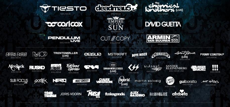 La création de logos pour des DJ populaires.