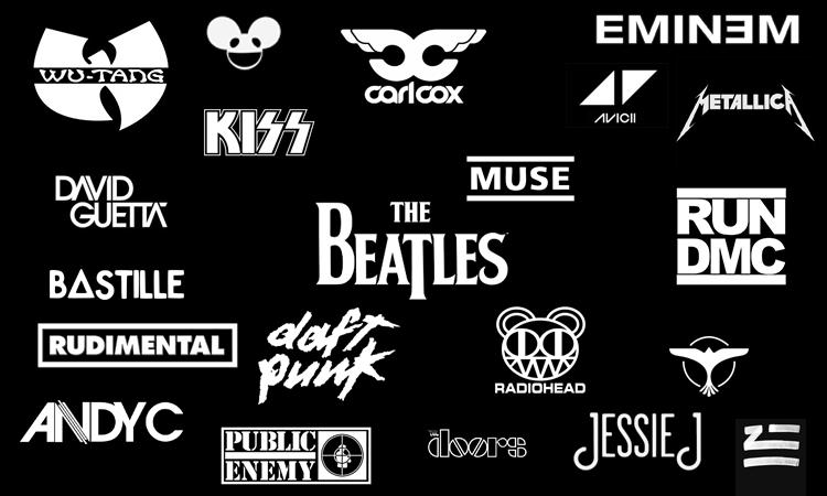 Des logos DJ réputés.