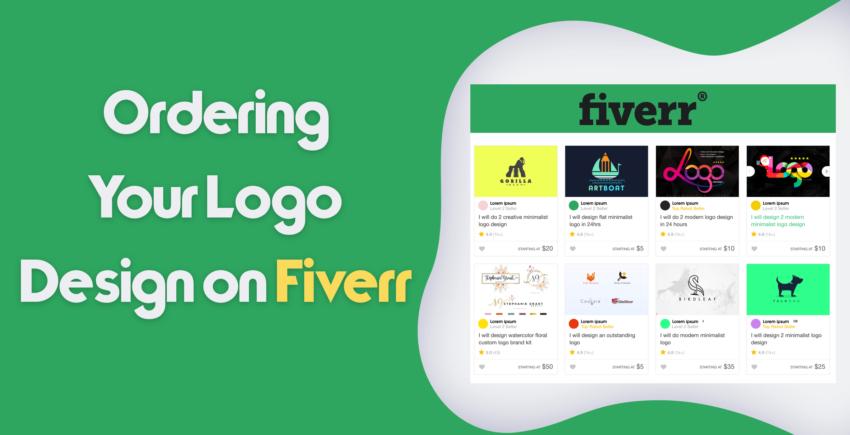 La création de logos avec Fiverr.