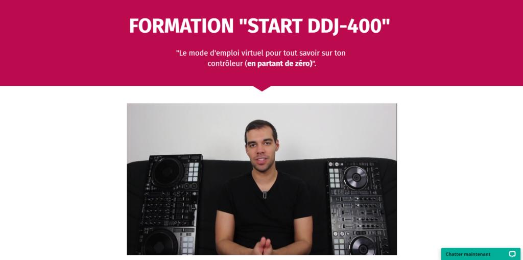 comment mixer sur ddj-400, à travers un mix entièrement commenté.